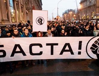Владимир Мацкевич: В марте на уличные протесты может выйти еще больше населения