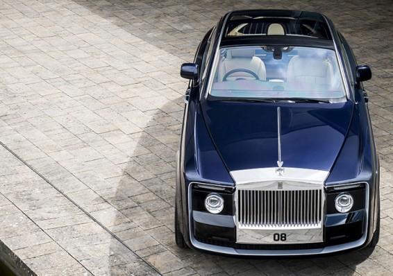 Rolls-Royce претавила самый дорогой автомобиль в мире