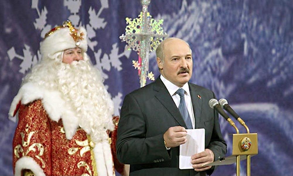 Беларусь новогодние поздравления